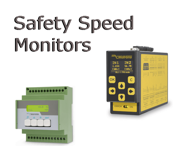 Safety Speed & Position Monitors